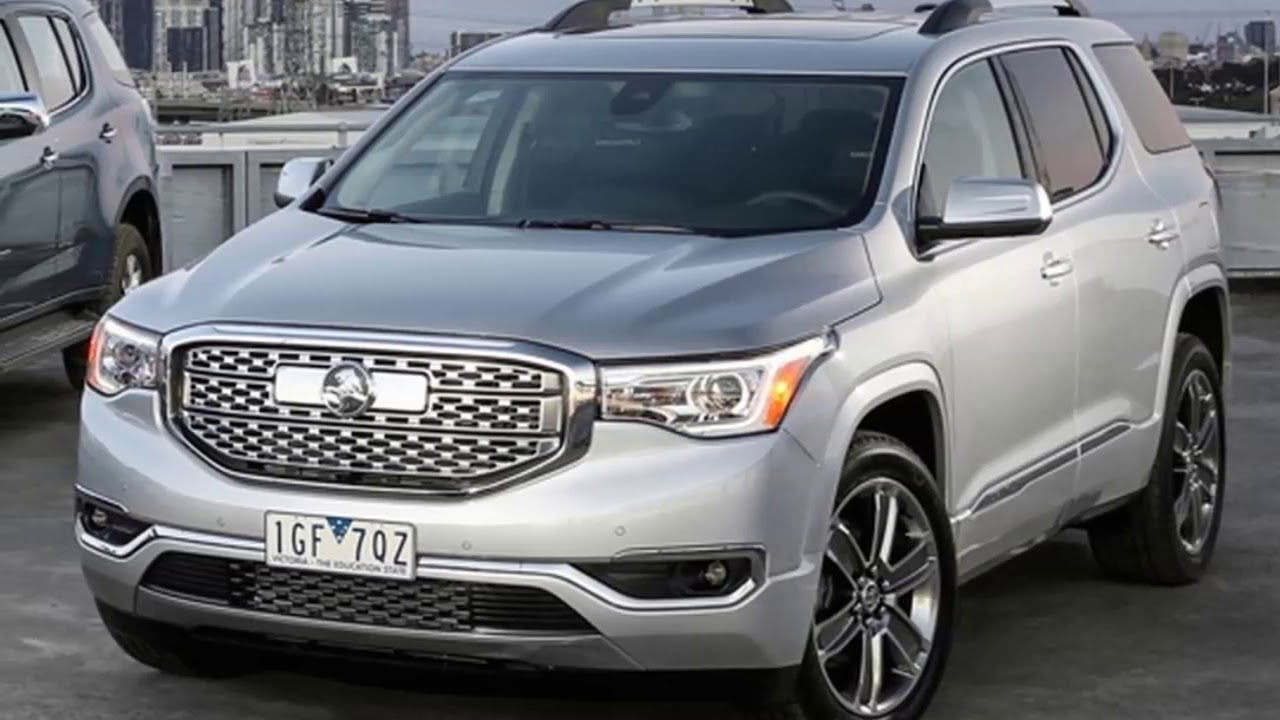 The Best 2018 Holden Acadia Interior