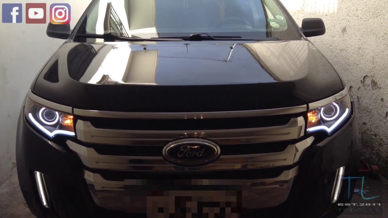 Headlights Ford Edge