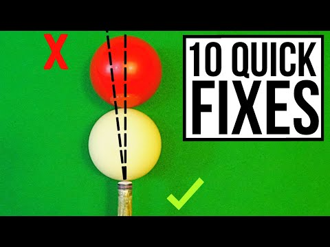 Snooker 10 Fastest Ways To Improve