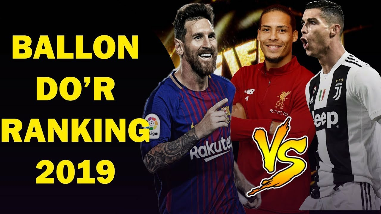 Ballon d'Or Ranking 2019 June [Top best football player in ...