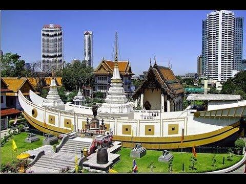 Chùa Xá Lợi (Chùa Thuyền) Bangkok – Thái Lan