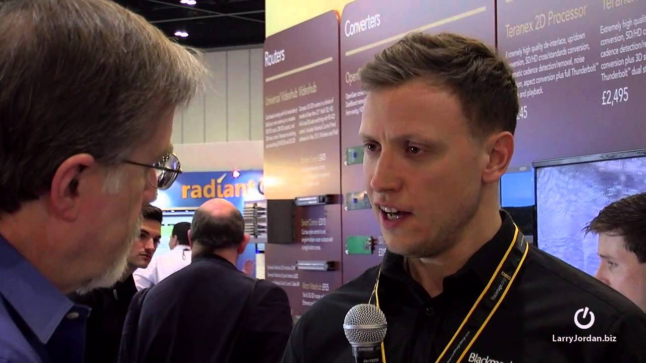 Download Catching Up With Blackmagic Design at BVExpo 2014