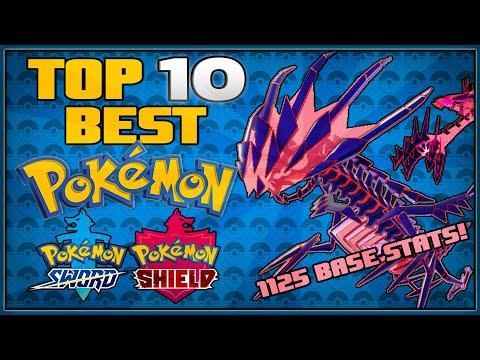 Top 10 Best Pokémon for Pokémon Sword and Shield
