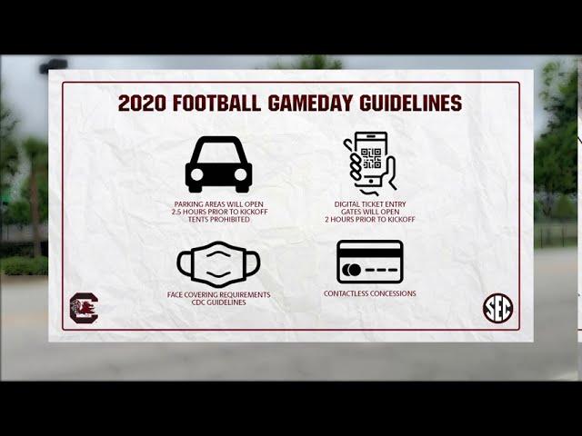 CCS: Gamecock Football Adjusting to COVID-19 Protocols