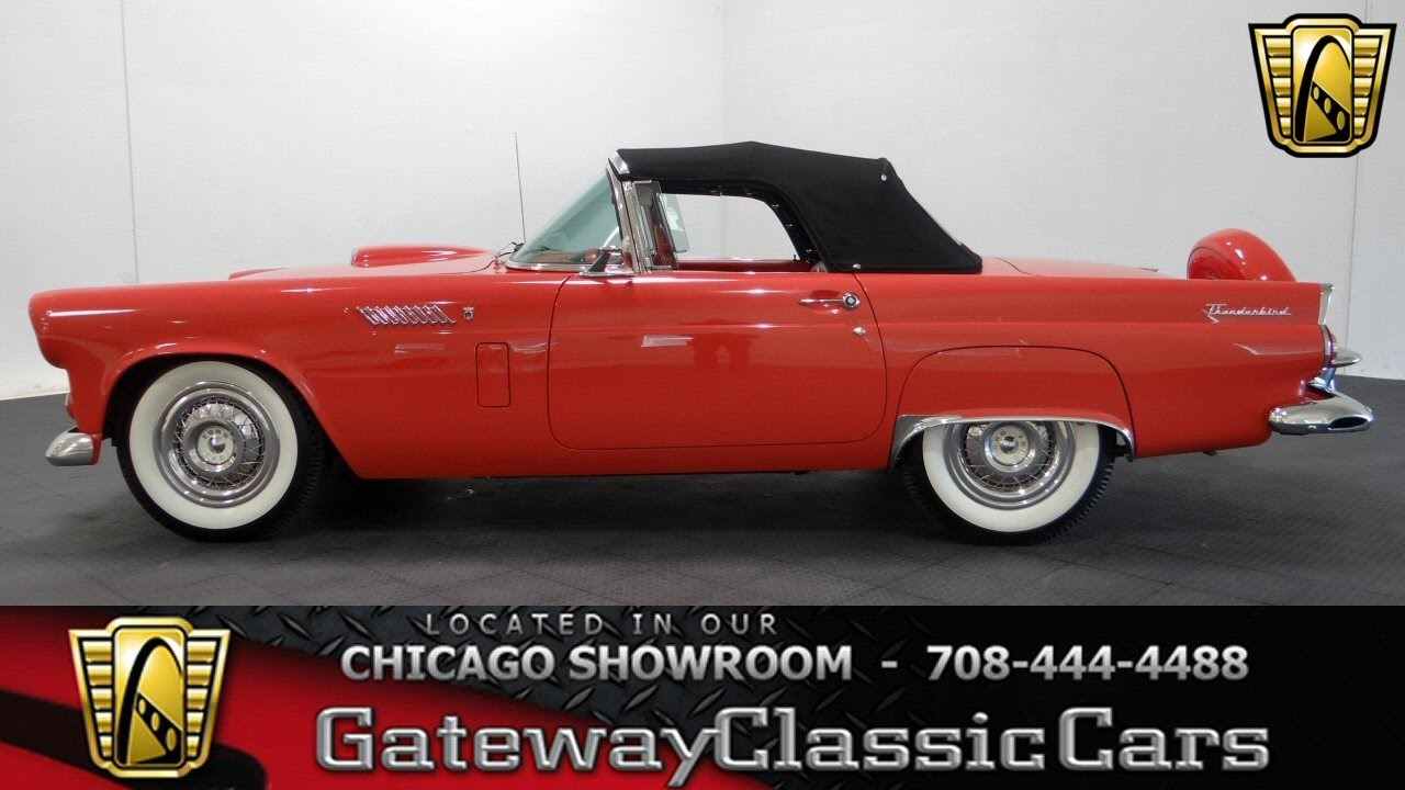 1956 Ford Thunderbird Gateway Classic Cars Chicago 1055 Youtube 1964 Engine Diagram