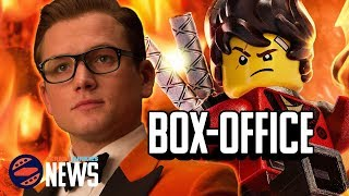 Kingsman 2 Is Golden, LEGO Breaks Apart - Dan's Movie Report