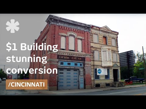 Before: 19th Century $1-building; Now: luxury house/pizzeria