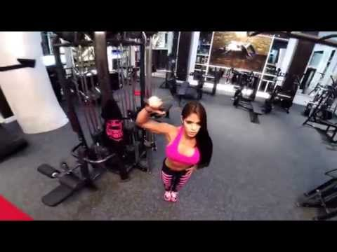 MICHELLE LEWIN Workout - Full shoulder workout