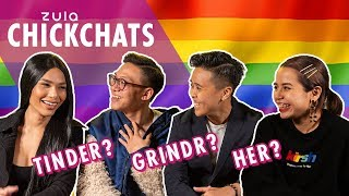 dating in the lgbtq community zula chickchats ep 74