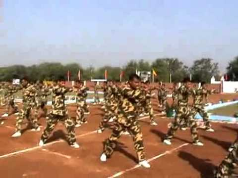 CRPF DASO 78 PASSING OUT PARADE...............KARATE DEMO WAS GIVEN BY DASO 79 BATCH BOYS