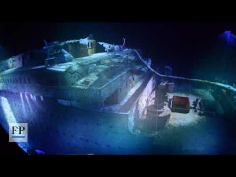 Die Titanic im Panometer Leipzig