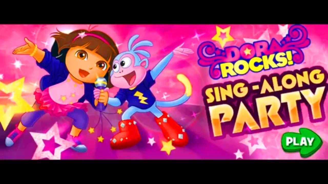 Dora The Explorer: Rocks Sing-Along Party Game