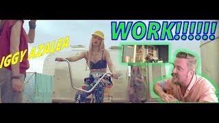 Iggy Azalea - Work (Explicit) | REACTION VIDEO!!