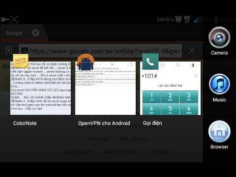 Hướng dẫn sử dụng Open VPN For android kết nối 3G miễn phí