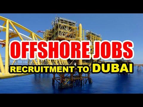 Offshore Jobs in Dubai | Offshore Job Recruitment to Dubai | UAE