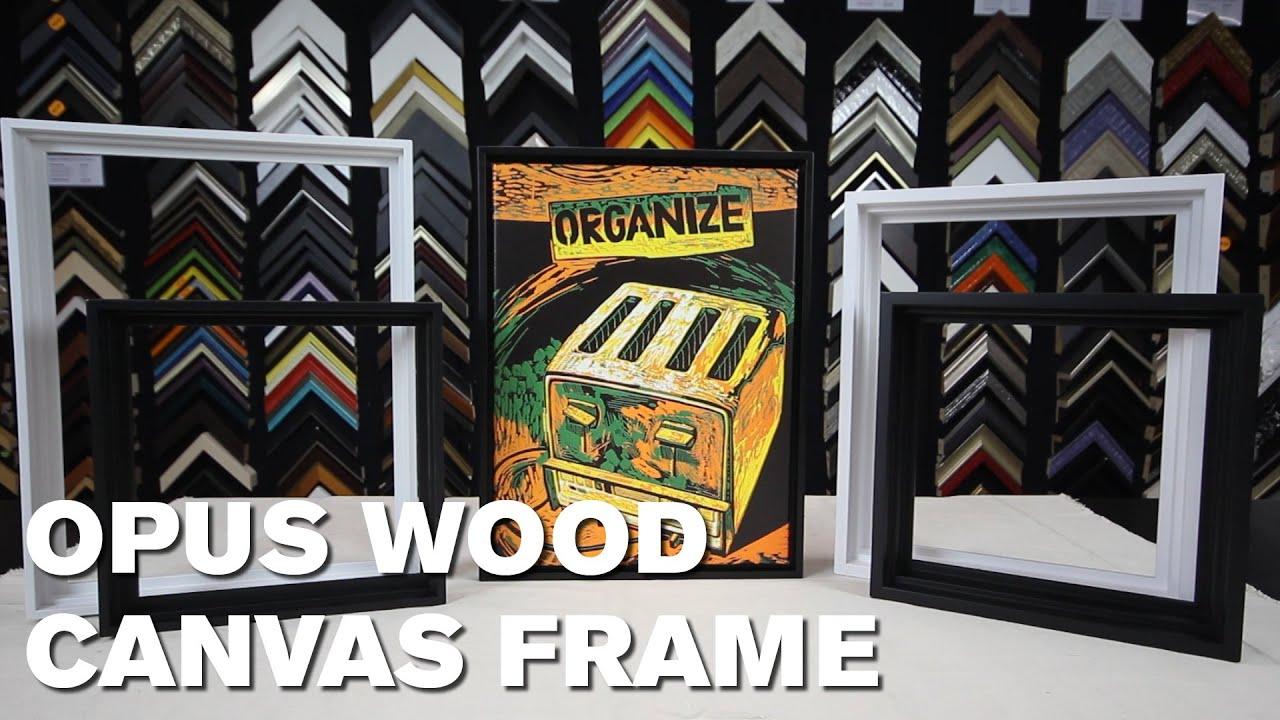 Opus Wood Canvas Frames – Slim 1¼