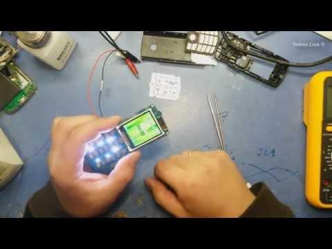 """Диагностика и ремонт телефона """"Samsung E2232 Duos"""". Восстановление кнопки."""