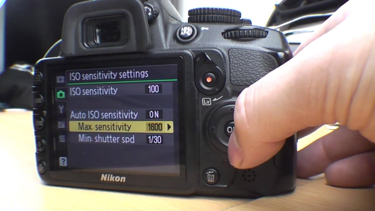 Nikon D3100 Menu functions beginner guide Part 1