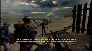 History Channel Civil War gameplay - North - Fort Fisher