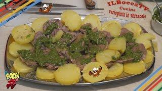 187 - Lingua bollita e patate lesse...fin dai tempi del calesse!(secondo piatto prelibato e gustoso)