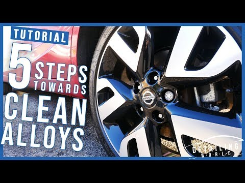 5 Easy Steps To Cleaning Your Alloy Wheels: A Beginner's Guide