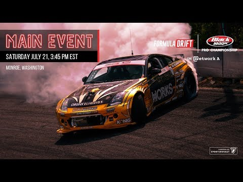 Formula Drift Monroe - Main Event LIVE!