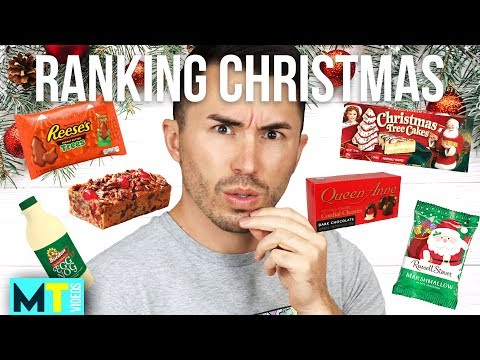 Ranking BEST to WORST Christmas Treats: Taste Test!