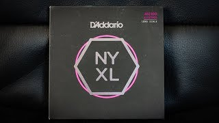 D'addario NYXL Bass Nickel - [DEMO]