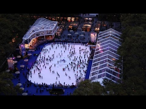 Winter Village at Bryant Park in NYC