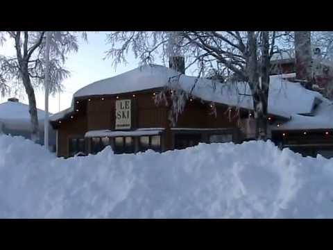 Storlien, Sweden in winter
