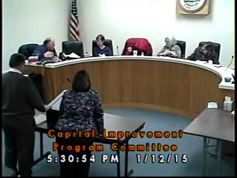 C.I.P. Committee - 01/12/2015 (Newmarket, New Hampshire)