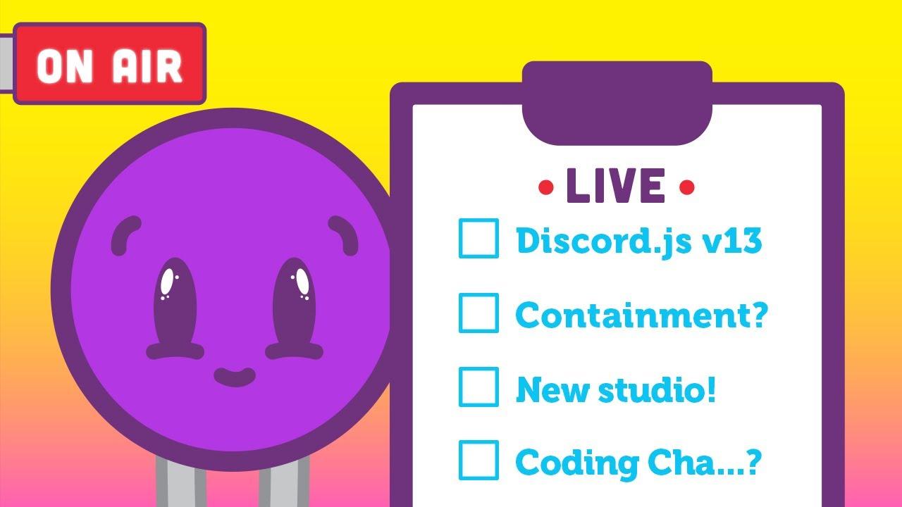 Coding Train Live: Exploring New Studio and a Coding Challenge?