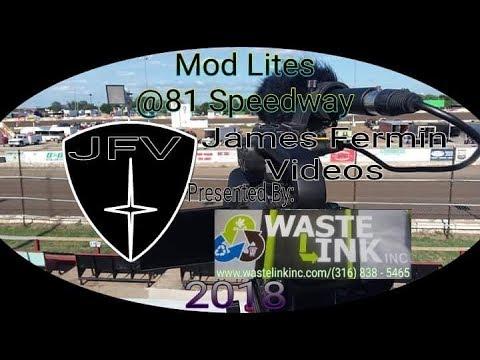 Mod Lites #16, Feature, 81 Speedway, 08/11/18