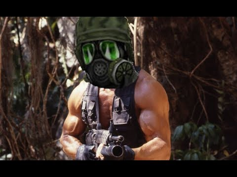 Predator dubbed with Half-Life SFX