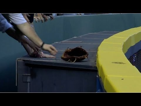 MLB Players Losing the Glove (HD)