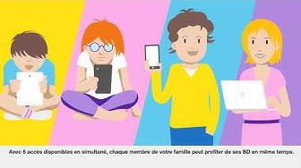 Découvrez l'avantage izneo famille by fnac inclus dans votre offre - Orange