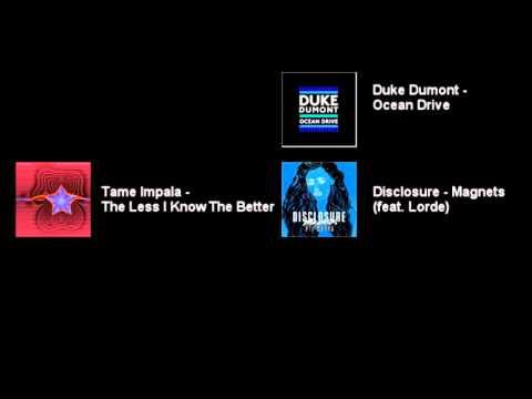 Triple J Hottest 100 of 2015 Mashup (Instrumental Breakdown)