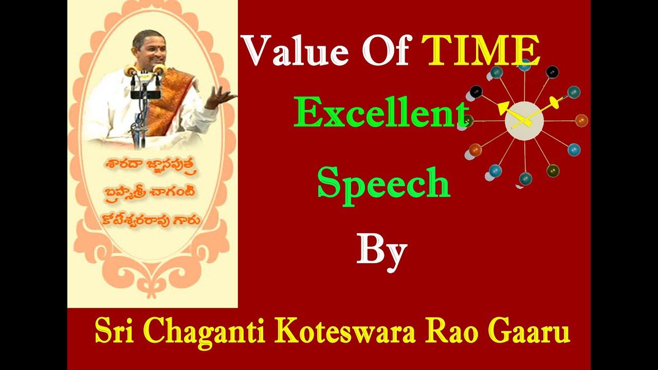 excellent speech