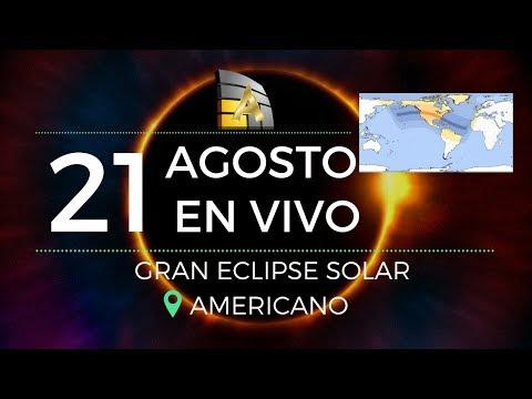 EN VIVO: Eclipse Solar en América (21 de Agosto 2017)