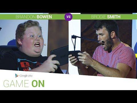 Google Play: Game On // Brandon Bowen vs. Brodie Smith