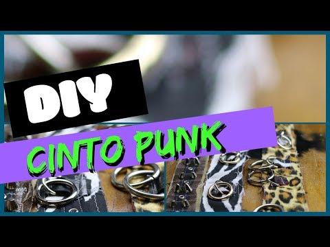 cinto punk diy