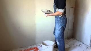 Высококачественная штукатурка стен(штукатурка стен гипсовой смесью с последующим глянцеванием поверхности., 2015-01-21T07:04:45.000Z)