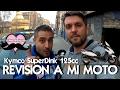 REVISIÓN MOTO SUPERDINK 125  (Rodillos, Variador y embrague)
