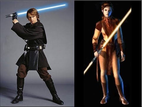 Star Wars Versus Series - Anakin Skywalker VS Bastila Shan