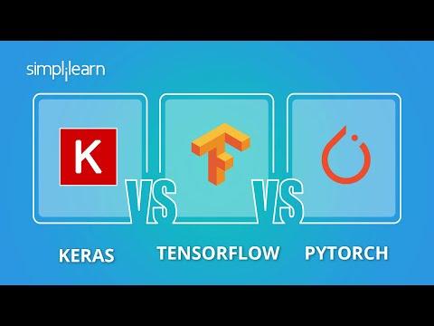 Keras vs TensorFlow vs Pytorch | Deep Learning Frameworks Comparison 2021 | Simplilearn