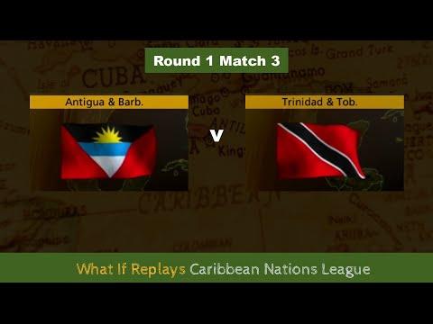 ANTIGUA AND BARBUDA v TRINIDAD AND TOBAGO Round 1 Match 3