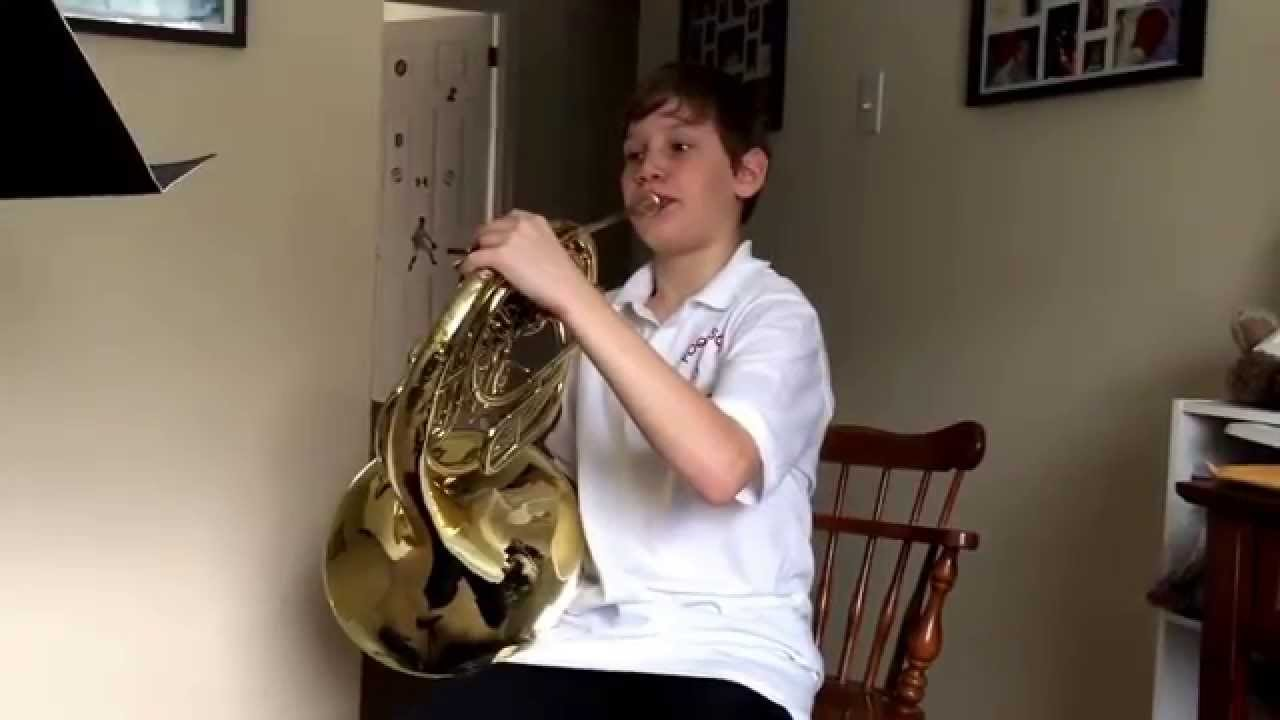 Isaiah French Horn Solo The Huntsman