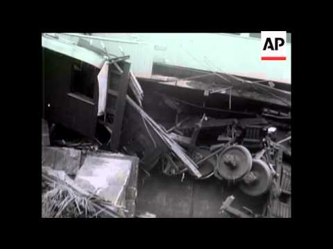 HEADLINES FROM THE NEWS - TRAIN WRECK IN BRAZIL
