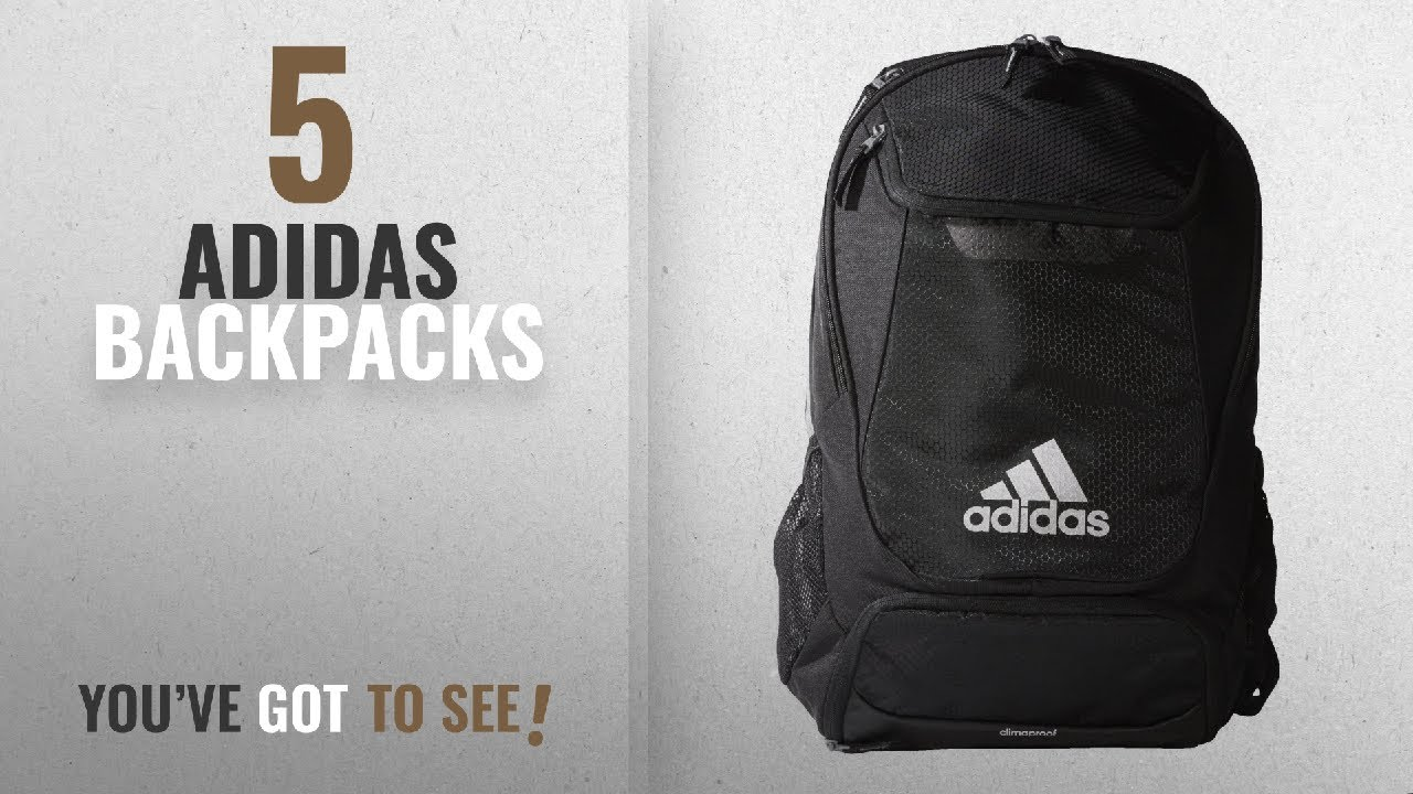 d7b35d464b22 Top 10 Adidas Backpacks  2018   adidas Stadium Team Backpack