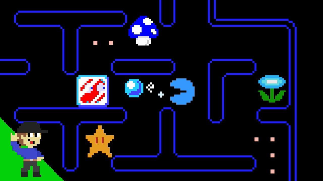 Level UP: If Pac-Man had Super Mario Power-ups